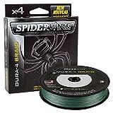Spiderwire dura-4 SEDAL TRENZADO 300m VERDE MUSGO 51lb / 23.2kg 0.25mm