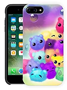 """Humor Gang Cute Soft Toy Small Printed Designer Mobile Back Cover For """"Apple Iphone 7 Plus"""" (3D, Matte Finish, Premium Quality, Protective Snap On Slim Hard Phone Case, Multi Color)"""