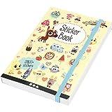 Sticker-Buch, Größe 11,5x17 cm, Stärke: 1,5 cm, 1Stck, 80 Seiten