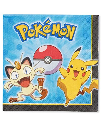 amscan-international-511844-servilleta-33-cm-pokemon