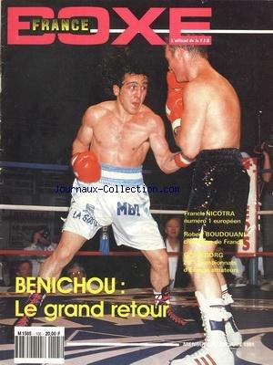 FRANCE BOXE [No 105] du 01/06/1991