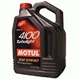 Öl MOTUL 4100 Turbolight 10W40 5l