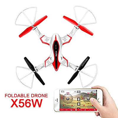 2017 Syma X20 Mini Pocket Drone without Camera 2.4GHz 4CH 6 Axis Gyro Altitude Hold One Key Take Off Landing Headless RC Quad Copter for Beginners TIME4DEALS