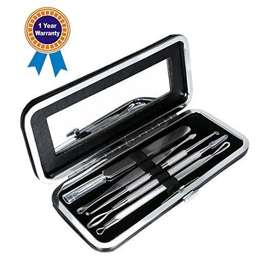 Blackhead Removal Tools Kit, Solofish Whitehead Removal Set