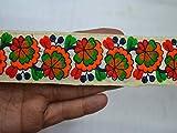 Dekobordüre indischer Saree, 3,8 cm x 2,9 m