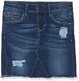 NAME IT Mädchen Rock NKFTONJA DNM 3151 Skirt NOOS, Blau (Dark Blue Denim), (Herstellergröße:146)