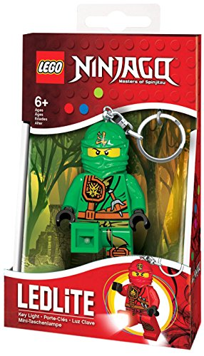 LEGO Ninjago Minitaschenlampe - Lloyd, circa 7,6 cm (Die Grüne Ninja)