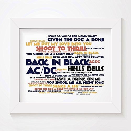cadence-kunstdruck-poster-ac-dc-back-in-black-unterzeichnet-und-nummerierten-limitierte-auflage-typo