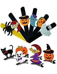 Decoración de Halloween, Horquilla de Halloween, Pulsera, 12-PACK, para la Decoración de la Fiesta de…
