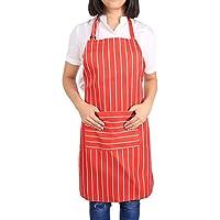 Filfeel Delantales de Cocina, Ajustables a Prueba de Agua Cafe Commercial Restaurant Chef Delantales Convenient