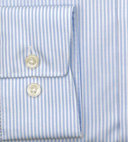 Camicia da uomo 'modern fit' a maniche lunghe Hellblau