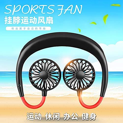 Ventvolo Mini Fan Mini Hängenden Hals Fan USB Lazy Fan Kreative Sportarten Outdoor-Lade Wearable Aktivitäten Uniform Mixed Color 2000Ma - 10 Home Uniform