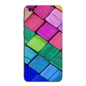 COLORRFUL ICE CREAM BACK COVER FOR HONOR 6