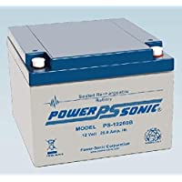 Power Sonic 12V 26AH AGM Deep Cycle Rechargeable 27 Holes Golf Trolley Battery