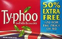 Typhoo British Tea Bonus Pack with 120 Bags!