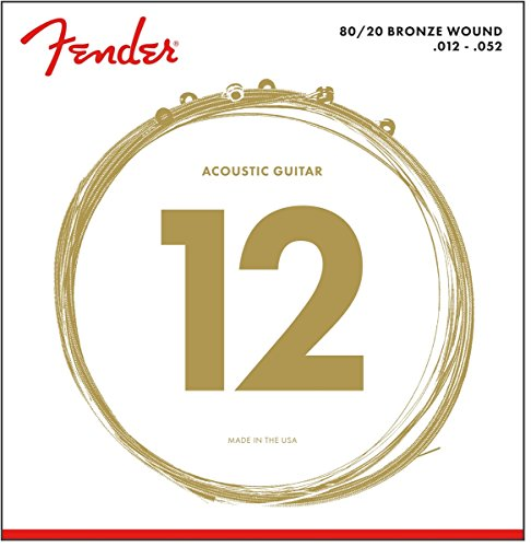 Fender 70L 80/20 Bronze Wound Ball End
