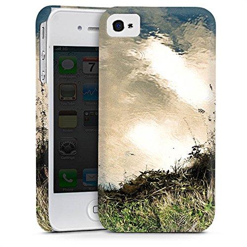 Apple iPhone 6 Housse Étui Silicone Coque Protection Eau Water Prairie Cas Premium mat