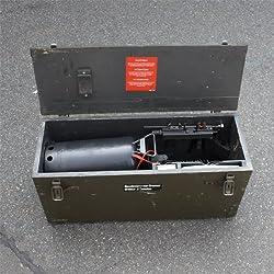 Benzinvergaserbrenner mit Holzkiste gebraucht