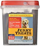 Jerky Treats Tender Beef Strips Dog Snacks, 60 oz/Large by UCCI (European Credit and Commerce International)...