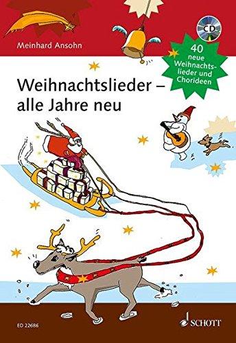 Weihnachtslieder - Alle Jahre Neu Chant +CD par Meinhard Ansohn