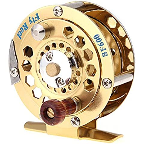 ryask (TM) UK Full Metal Fly Pesce Reel ex ghiaccio