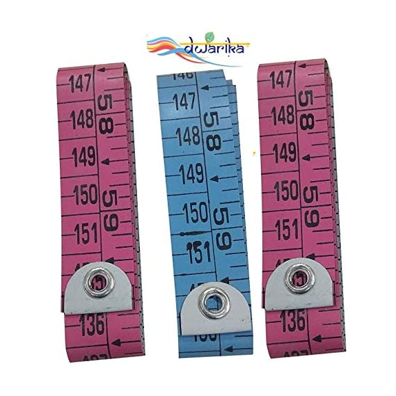 SALASAR CO. Sewing Tailor Measuring Ruler Tape (1.5 m, 60 Inches) - Pack of 3