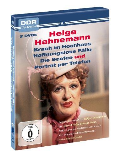 Helga Hahnemann: Krach im Hochhaus, Hoffnungslose Fälle, Die Seefee, Porträt per Telefon (2 DVDs)