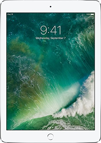 APPLE 9.7 iPad Cellular - 32 GB, Silver, Silver lowest price