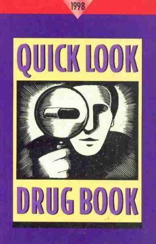 Quick Look Drug Book, 1998 por Leonard L. Lance