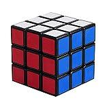 3x3 Rompecabezas mágico del cubo, cubo básico clásico de la velocidad de Shengshou Negro,