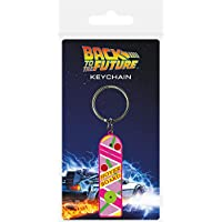 Pyramid International Back To The Future Hoverboard Rubber Keychain, Multi-Colour, 4.5 x 6 cm