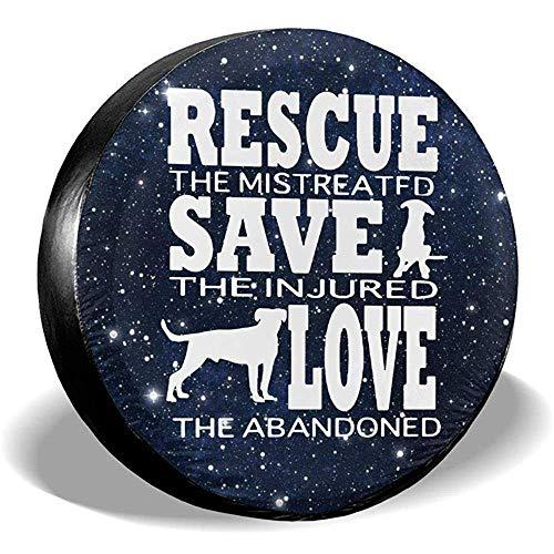 Olive Croft Copricerchi per Auto di Ricambio per SUV per Animali di Salvataggio per Gatti di Salvataggio per Cani di Animali Domestici da 15 Po