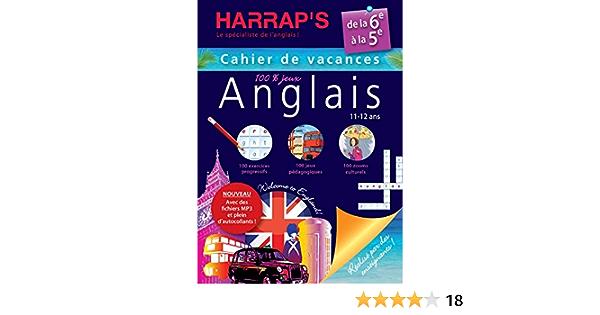 Amazon Fr Harrap S Cahier De Vacances Anglais 6eme Collectif Livres