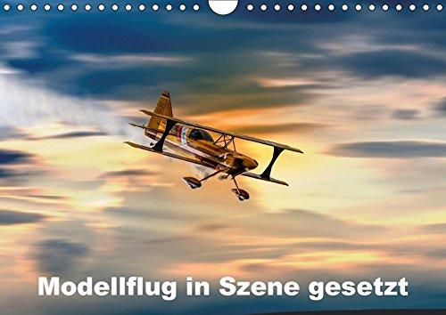 Modellflug in Szene gesetzt (Wandkalender 2017 DIN A4 quer): Modellflugzeuge in ihrem Element (Monatskalender, 14 Seiten) (CALVENDO Hobbys)