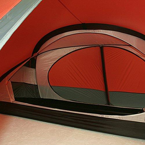 10T Silicone Biker – 2-Personen Touren-Geodät-Zelt mit großer Apsis silikonisiert Alu-Gestänge Packmaß ø18×45 WS=5000mm - 25