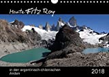 Monte Fitz Roy - in den argentinisch-chilenischen Anden (Wandkalender 2018 DIN A4 quer): Der Fitz-Roy, in der Sprache der Tehuelche-Indianer El ... ... Natur) [Kalender] [Apr 01, 2017] Flori0, k.A.