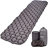 Ultralight Sleeping Mat | Inflatable Camping Air Pad | Compact & Comfortable Grey