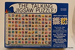 THE TALKING JIGSAW PUZZLE THE HIGH SCHOOL - Two sided 560 pieces - Follow the conversations - Milli