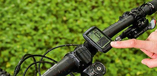 Sigma Sport Fahrrad Computer PURE GPS, Höhenmessung, Kompass-Navigation, Kabelloser Fahrradtacho, Schwarz - 5