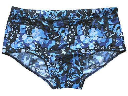 Solar Men Functional Fashion Badehose, Badeslip in blau, Seitliche Höhe ca. 16cm, Gr. 6 (L)