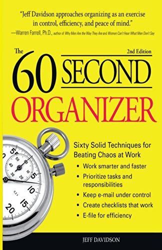 The 60 Second Organizer (English Edition)