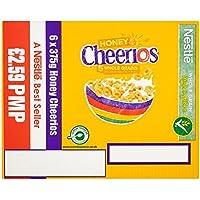 NestleHoney Cheerios 6 x 375g (paquete de 6 x 375 g)