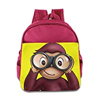 Curious George Monkey Kids School Backpack Bag