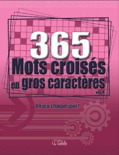 365 MOTS CACHES GROS CARACT N4