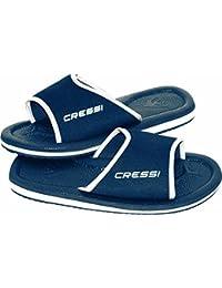 Cressi Beach Lipari Chanclas, Unisex Adulto, Azul, 35