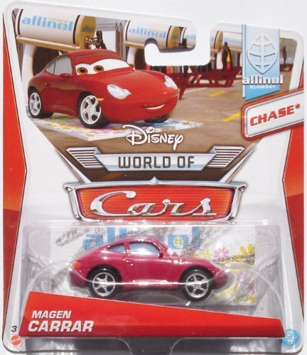 2014 Disney Pixar Cars Allinol Blowout - Magen Carrar - CHASE* by Mattel