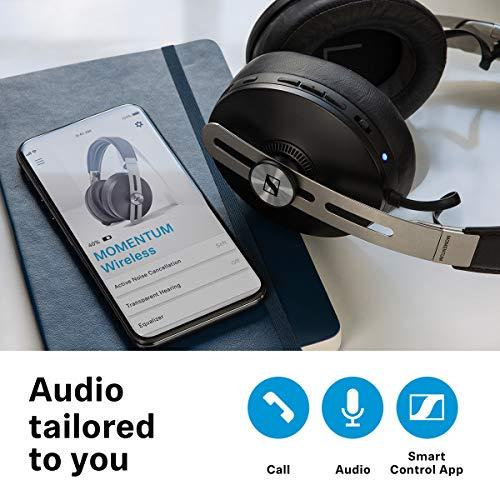 Sennheiser Momentum Wireless Kopfhörer (mit Geräuschunterdrückung, automatischer Ein-/Ausschaltung, Smart-Pause-Funktion und Smart Control App) - 6