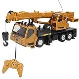 Zerodis- RC Juguete de Grúa, 1:24 Control Remoto de vehículos de construcción de vehículos de Juguetes de grúa Regalo para niños