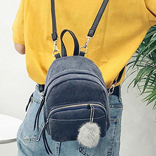 Imagen de goodsatar mujer cuero de la pu   bolso de viaje gris  alternativa