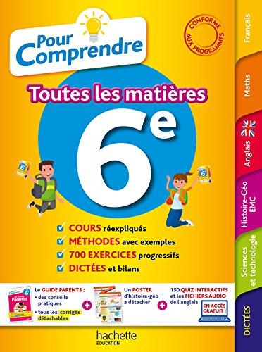 Pour Comprendre Toutes Les Matières 6E par Michèle Blanc